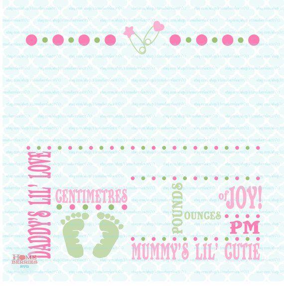 Birth Announcement Template Svg Birth Svg Baby Svg Announcement Svg Birth Facts Svg Birth Stats Bundle Of Joy Svg Files Svg Dxf Eps Jpg Png Artofit