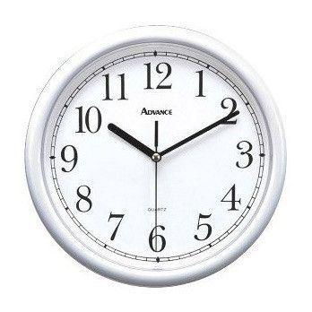 10 Inch White Plastic Wall Clock с изображениями