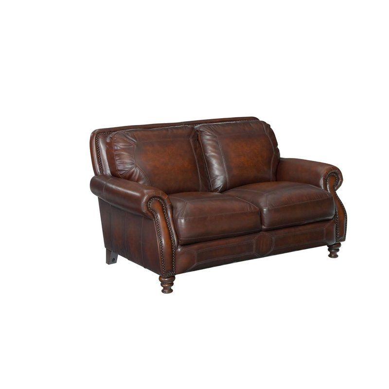 Remarkable Karlson Leather Loveseat Living Room Leather Loveseat Ibusinesslaw Wood Chair Design Ideas Ibusinesslaworg