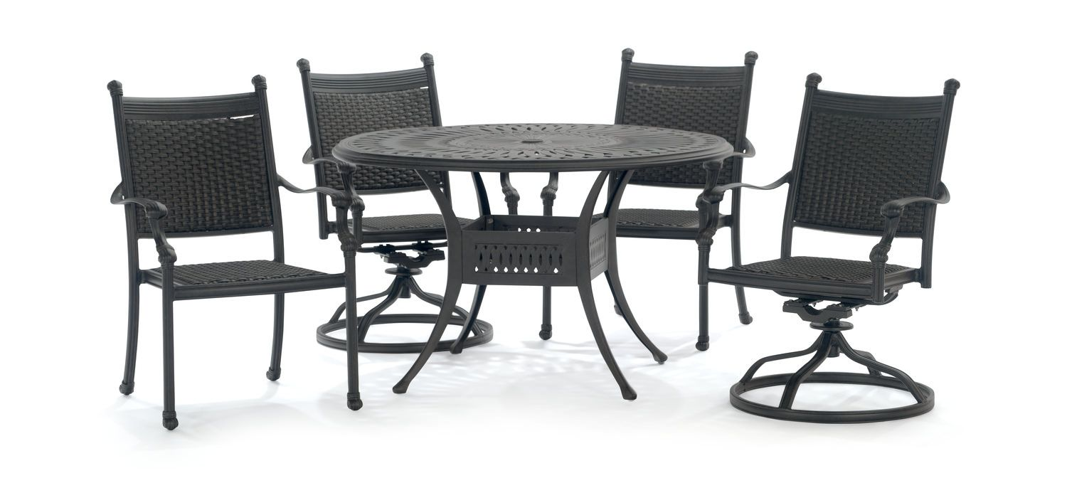 Patio Dining Set By Thomas Cole