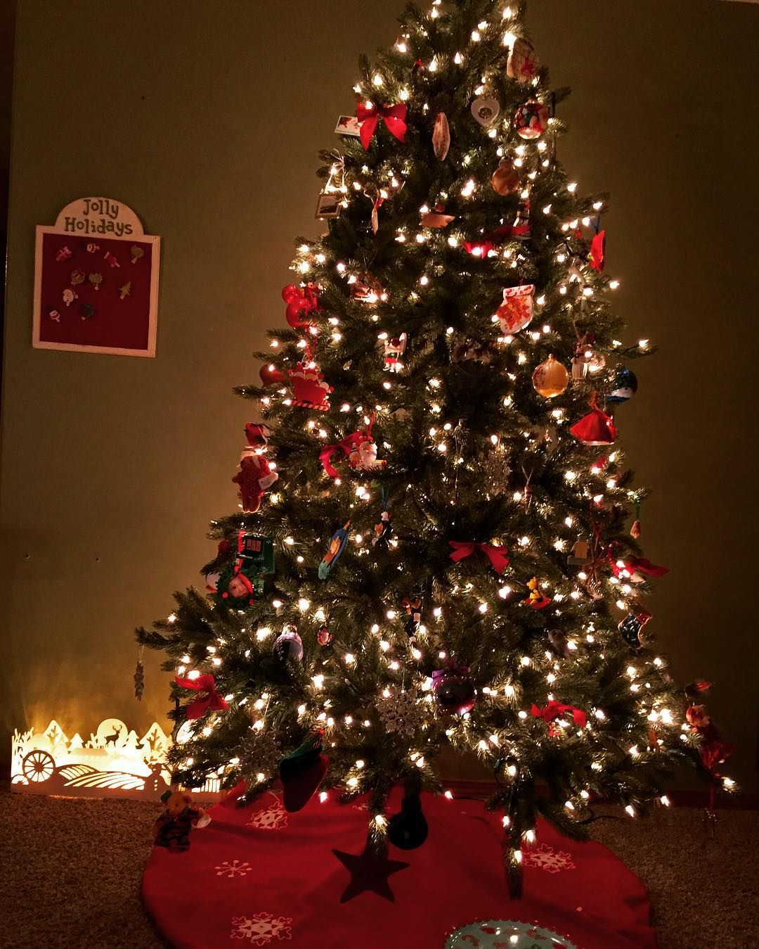 I've never put up my Christmas tree this early before. But since we had a tiny tree and limited ...