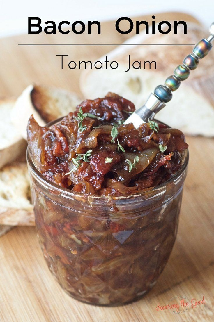 bacon jam recipe with sun dried tomatoes and caramelized onions