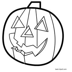 44+ Jack o lantern clipart black and white info