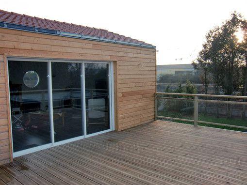 Extension bois Serres Pinterest Extensions - comment calculer surface habitable d une maison