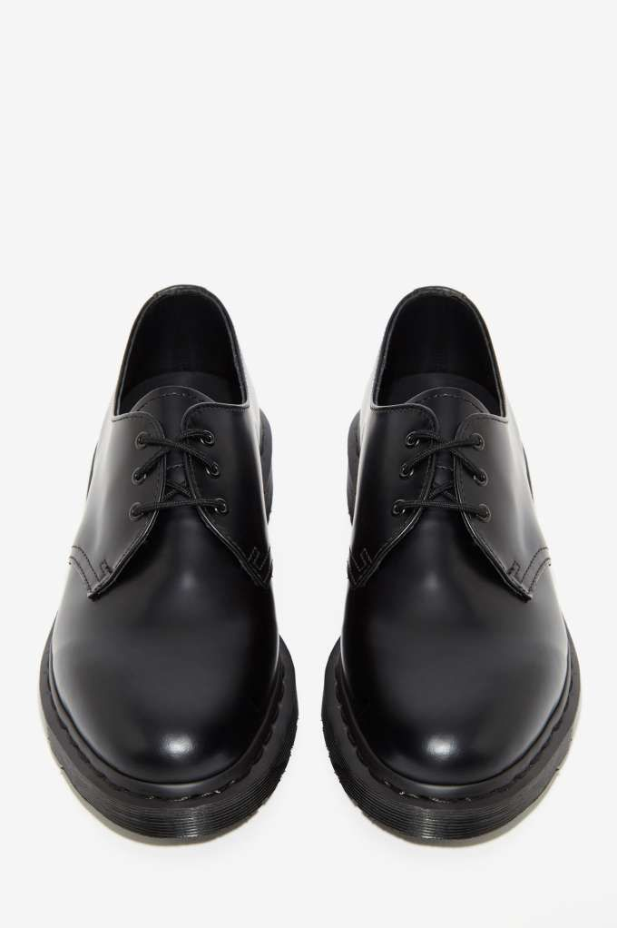 Dr. Martens 1461 3-Tie Leather Shoe - Black - Shoes | Oxfords