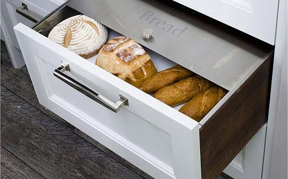 Bradco Stainless Products Co Custom Built Stainless Drawer Inserts Bread Drawer Drawer Inserts Kitchen Drawers