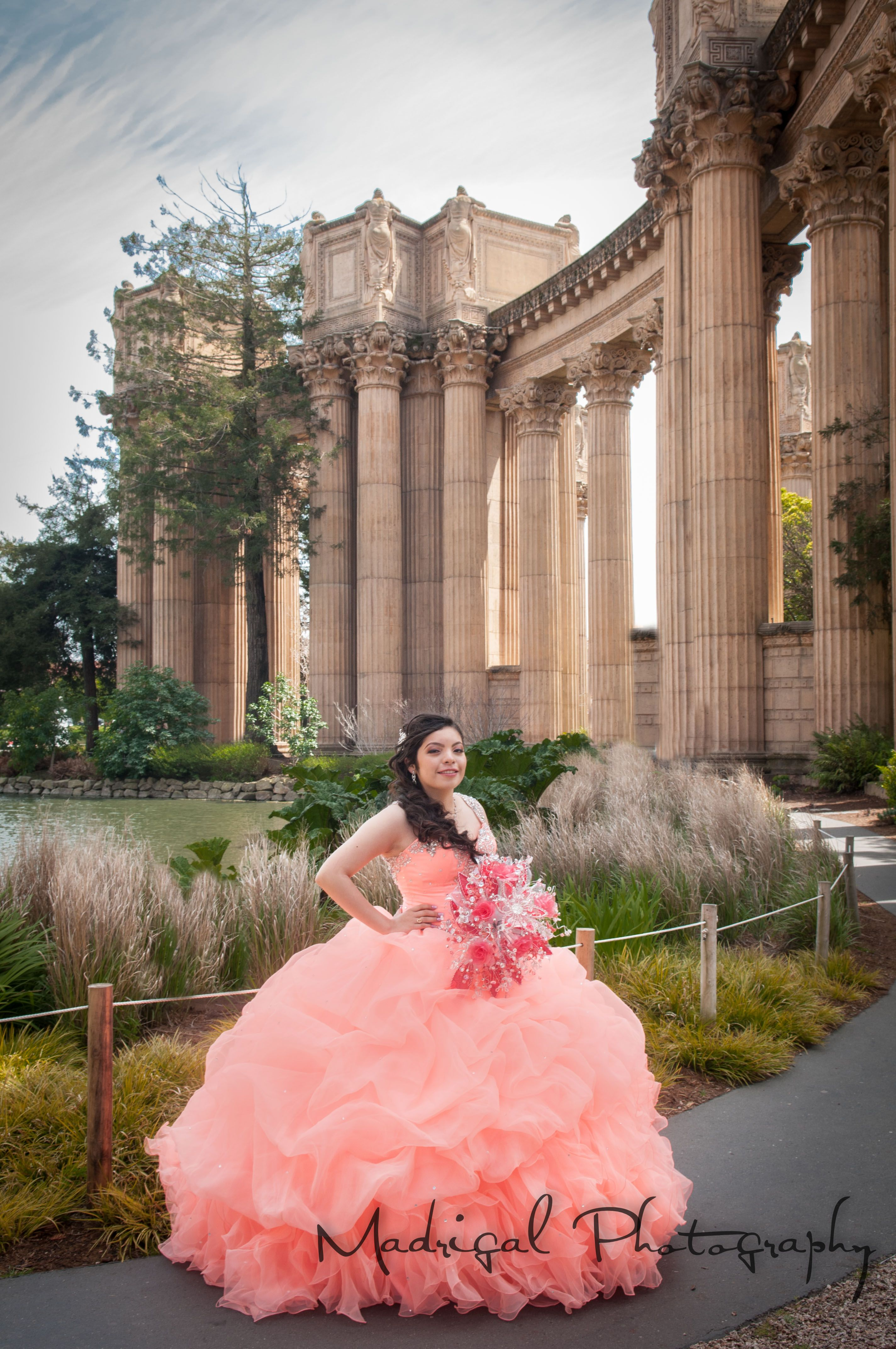 Quinceañera Photography, Palace of Fine Arts, San Francisco, Madrigal Photography
