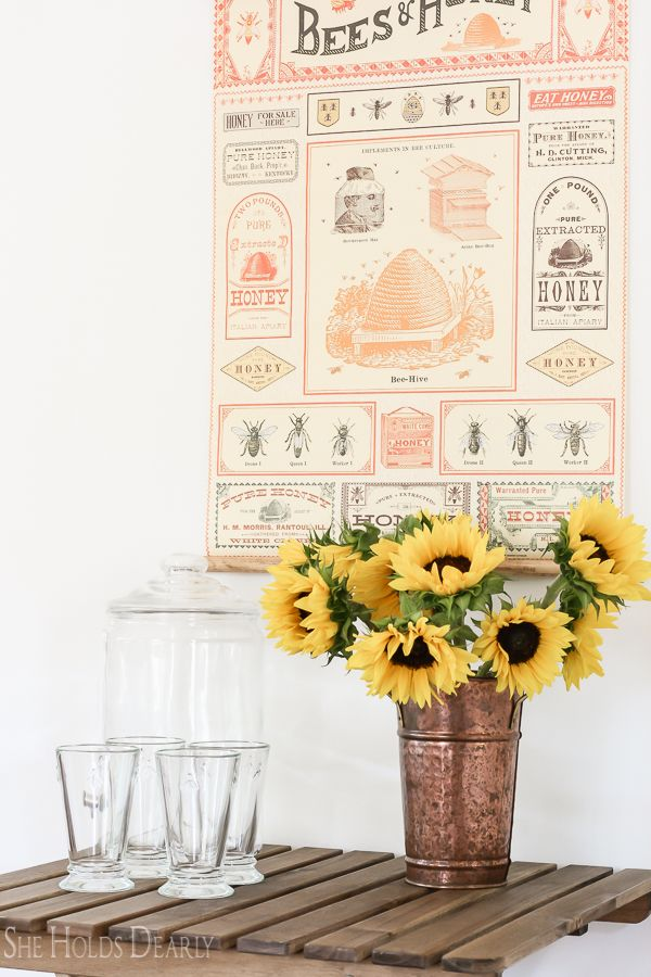 Bee Inspired Home Decor