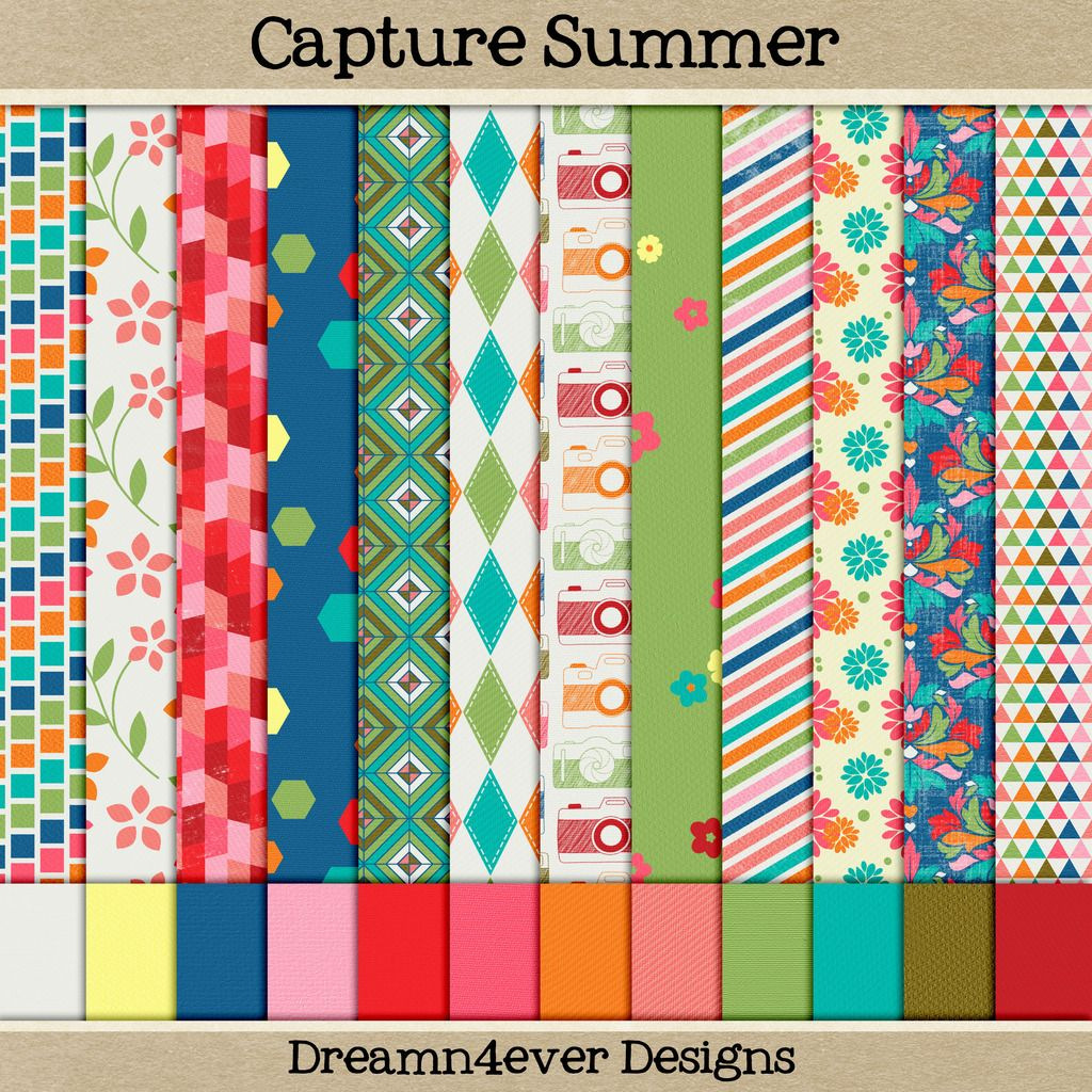 Free capture summer by dreamn4ever designs lovely colors for Digitale weihnachtskarten gratis