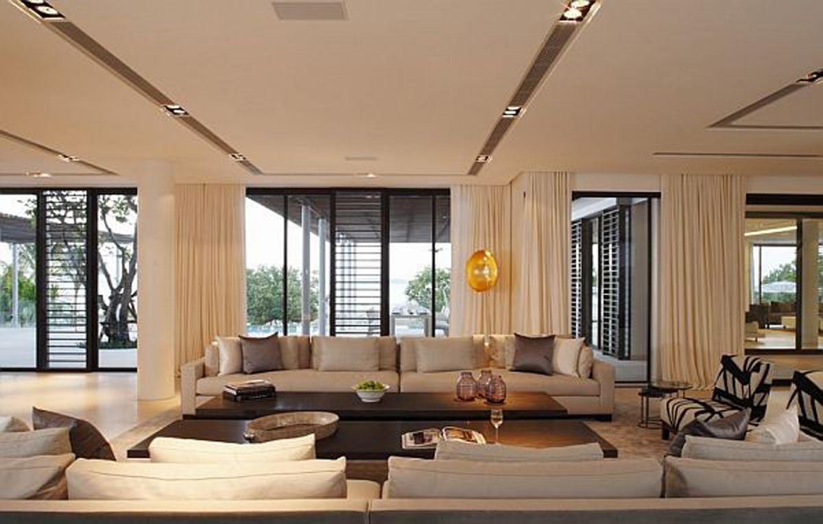 modern living room design Cape Yamu Interior Design Architecture ...