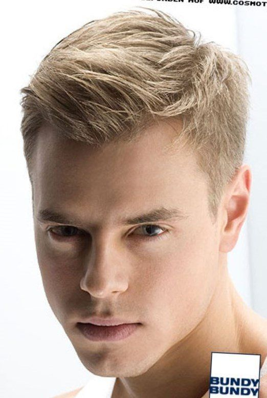 Coole Frisuren Fuer Blonde Jungs