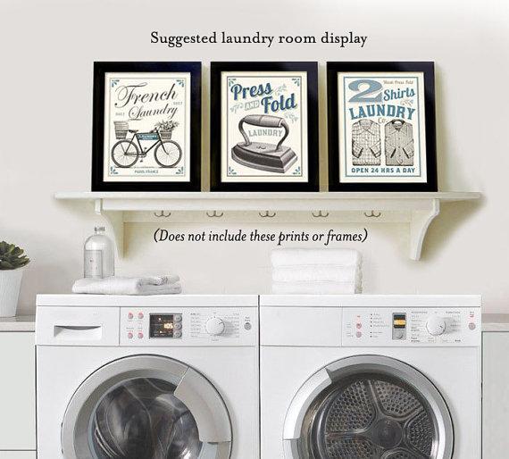 French Laundry New Kitchen: Laundry Room Decor French Laundry Kitchen Art Sign Wall