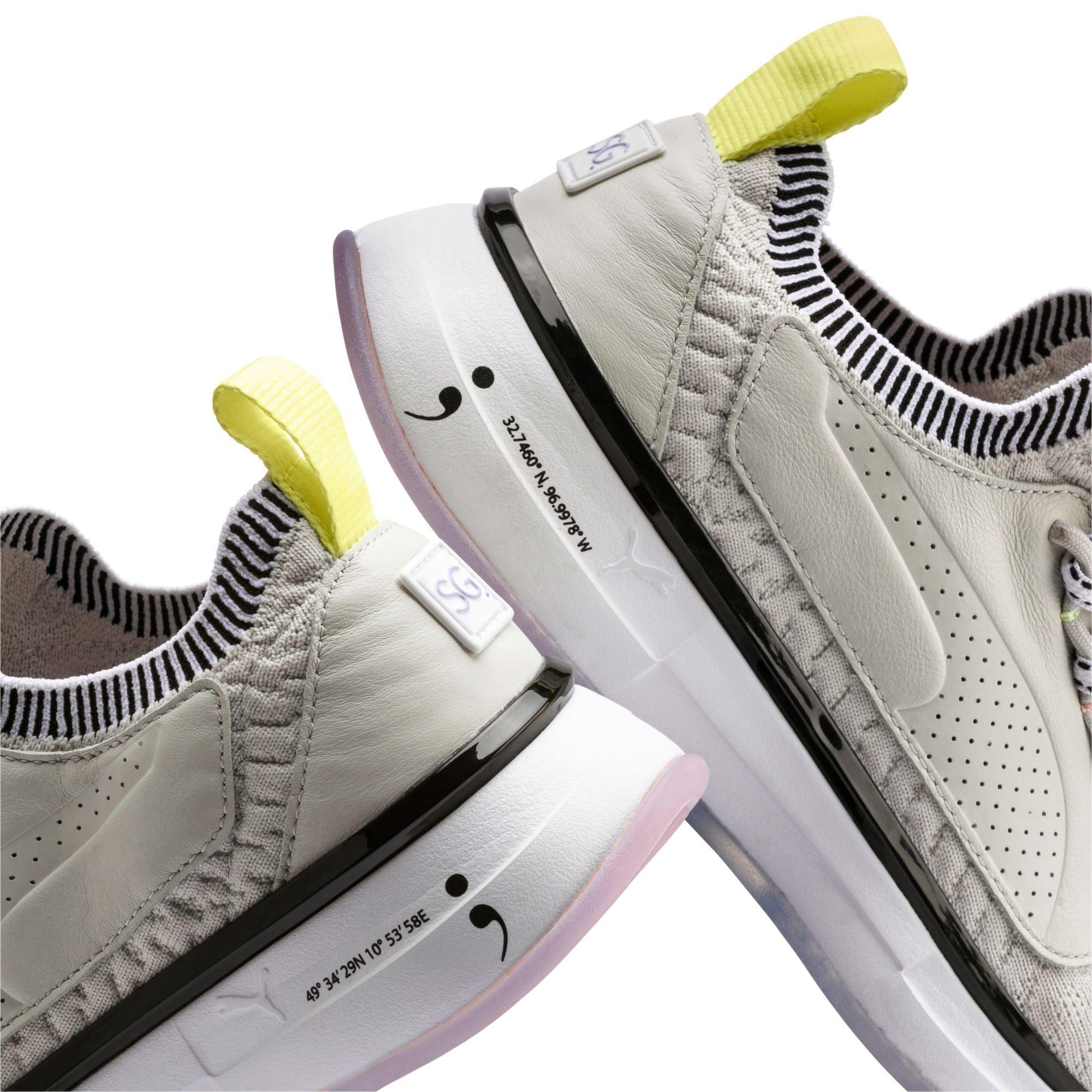 Puma X Selena Gomez Runner Women S Training Shoes In Glacier Grey