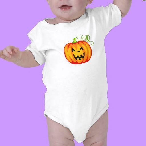 A Pumpkin Baby Bodysuit