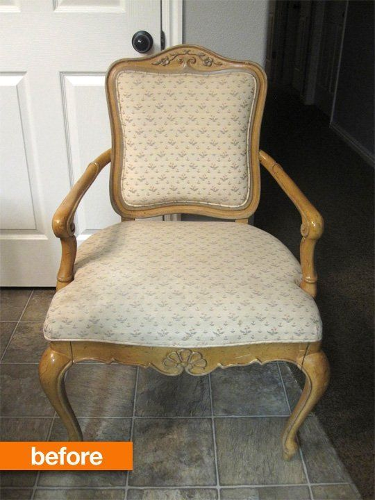 Before & After: Quick and Simple Chair Makeover — All Things Campbell