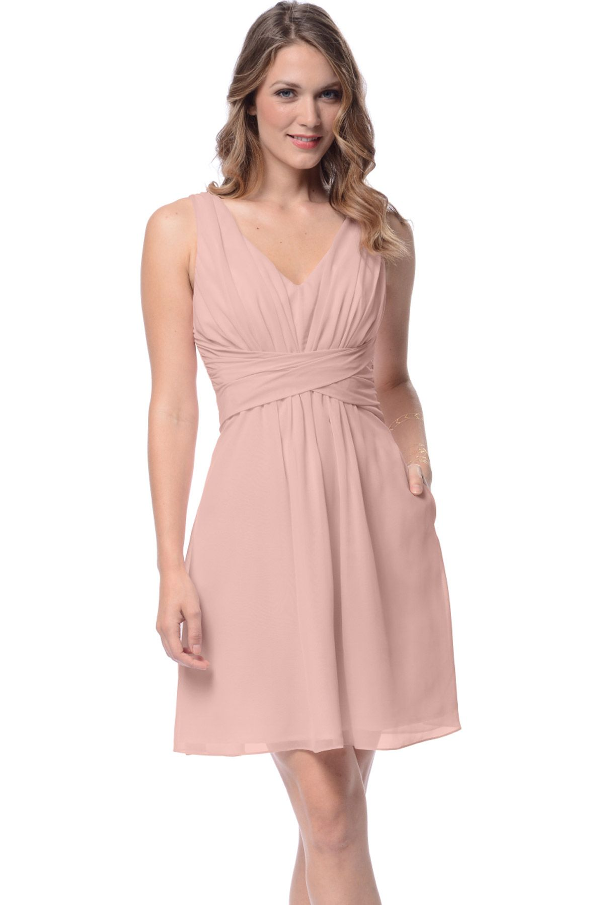 3b2bef3aee5 Shop Dove   Dahlia Bridesmaid Dress - Julia in Poly Chiffon at Weddington  Way. Find the perfect made-to-order bridesmaid dresses for your bridal  party in ...