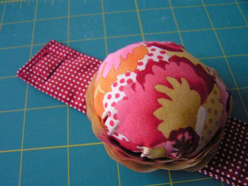 Tea Rose Home: Tutorial ~Sew Stylish Pincushion~