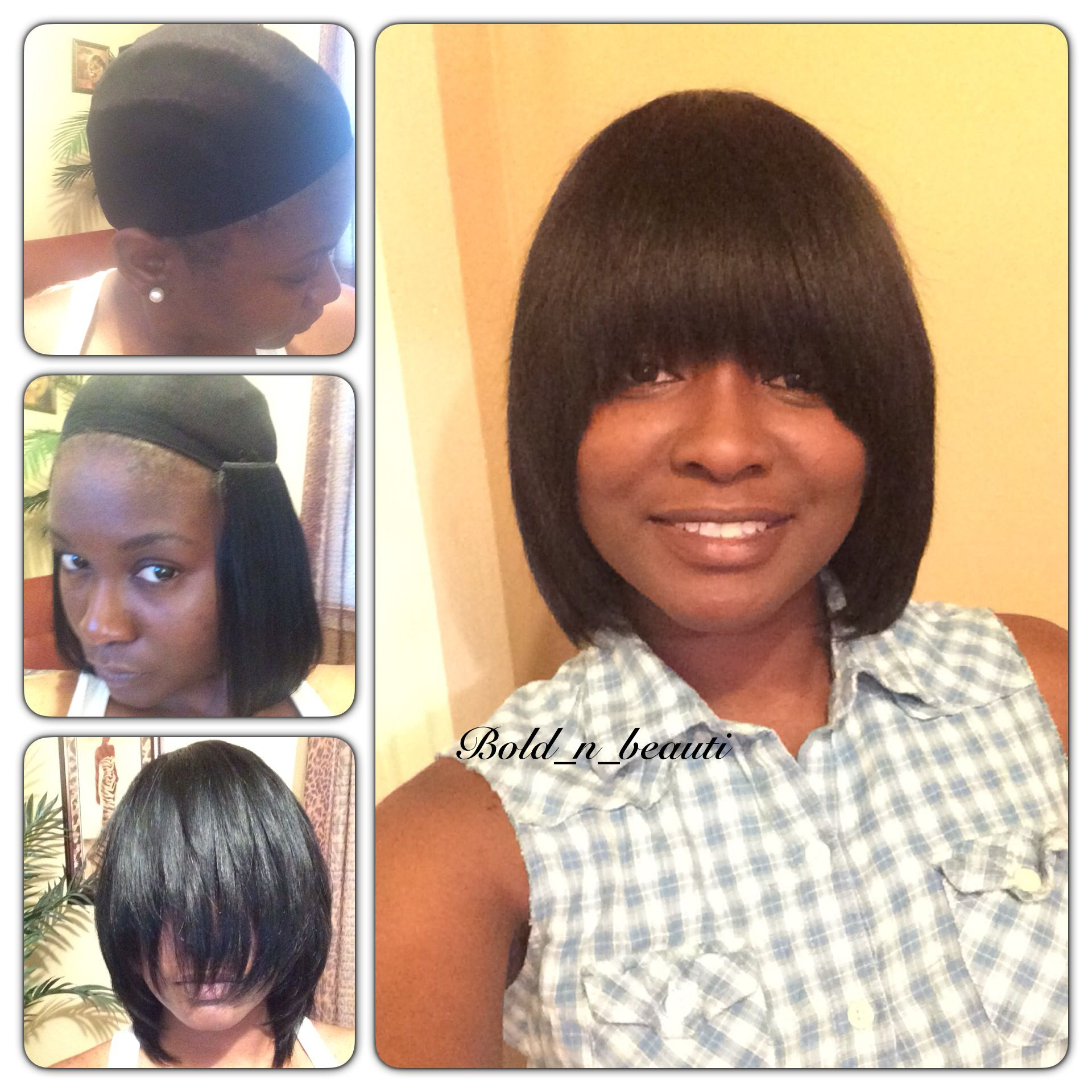 simply brazilian duby hair by outré. a quick weave i did on