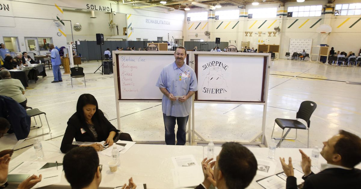 Prisoners make pitch to Silicon Valley venture capitalists. The months-long program works to develop the inmates' street-leadership skills, organization, hustle and passion, and to channel them into the business world.