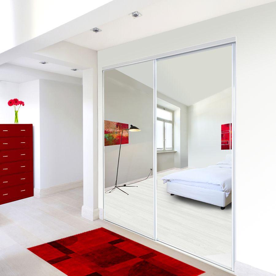 Exceptional Shop ReliaBilt Mirror Sliding Closet Interior Door (Common: X Actual