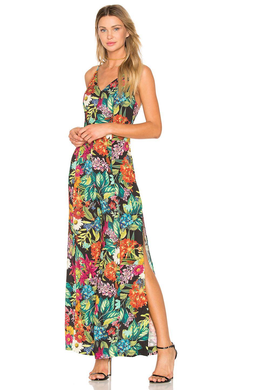 FARM Wide Leg Jumpsuit in Floral Juliana