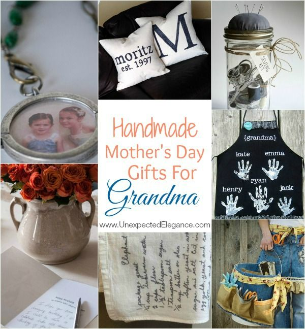 Mother S Day Is Soon Do You Have A Thoughtful Gift In Mind If Your Mom Also Grandma Maybe Consider Some Of These Handmade Gifts
