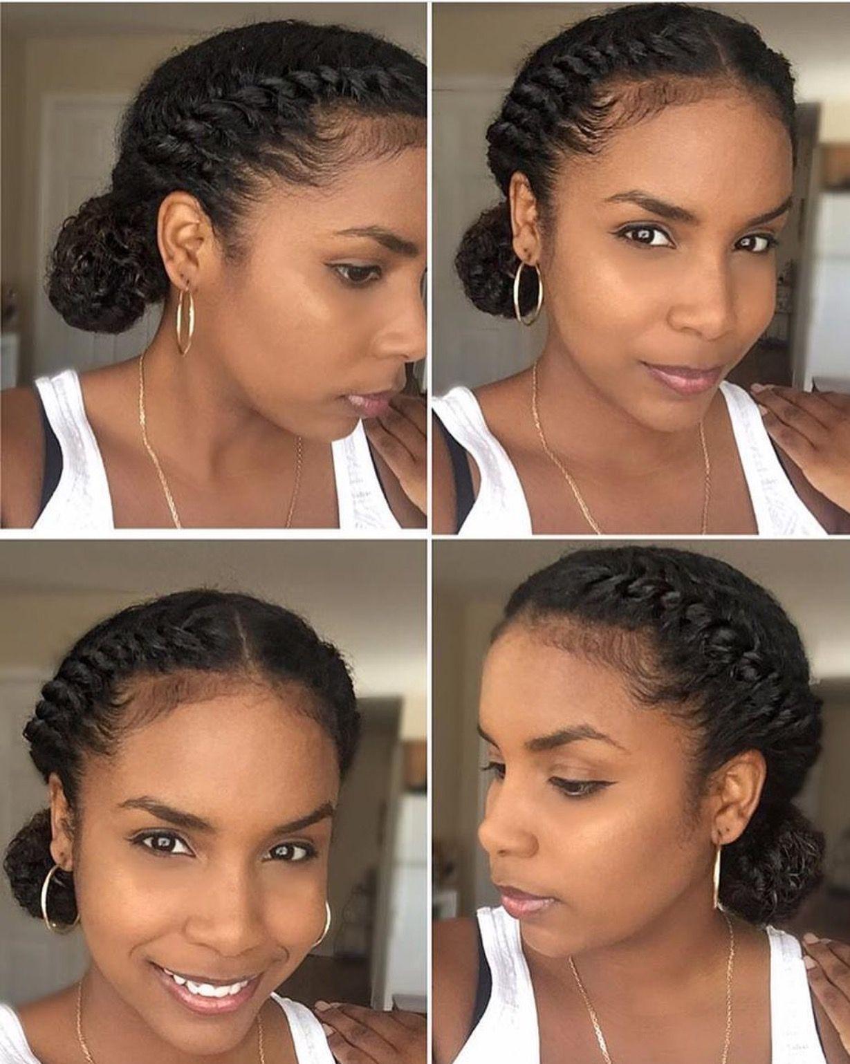 N A T U R A L H A I R With Images Natural Hair Styles Easy