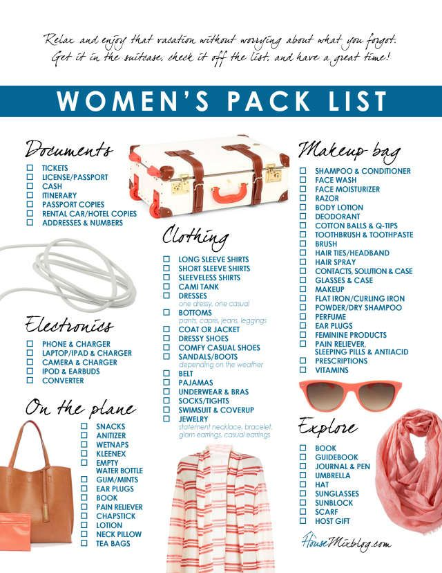 Travel Packing Strategies For The Disorganized  Travel Packing