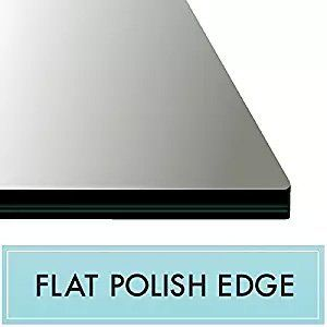 15 X 22 Rectangle Tempered Glass Table Top 3 8 Thick Flat Polish Edge And Touch Corners Review Glass Top Table Tempered Glass Table Top Glass Table