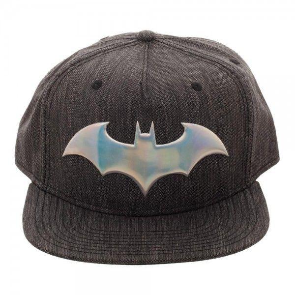 low priced e8087 130bd Batman Iridescent Logo Woven Fabric Snapback Hat Baseball Cap DC Comics  Bioworld  Bioworld  SnapbackHat