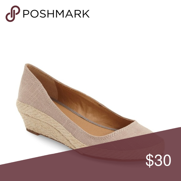 c062774de3d Lucky Brand | Tily Wedge Flat Great Condition | small spot on toe ...