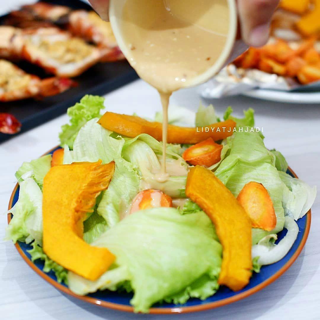 Pumpkin Salad With Homemade Japanese Sesame Dressing Temennya Makan Udang Nih Diet Ala2 Pencitraan Pumpkin S Forex Trading Strategies Food Trading Strategies