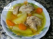 Photo of Boiled Chicken with Vegetables-Sebzeli Tavuk Haşlama  Boiled…