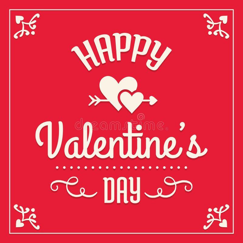 Happy valentines day card. Romantic Happy Valentines Day ...
