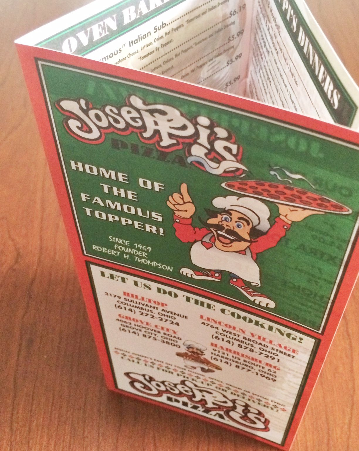 Joseppis Pizza - Printed by Dupli-Systems