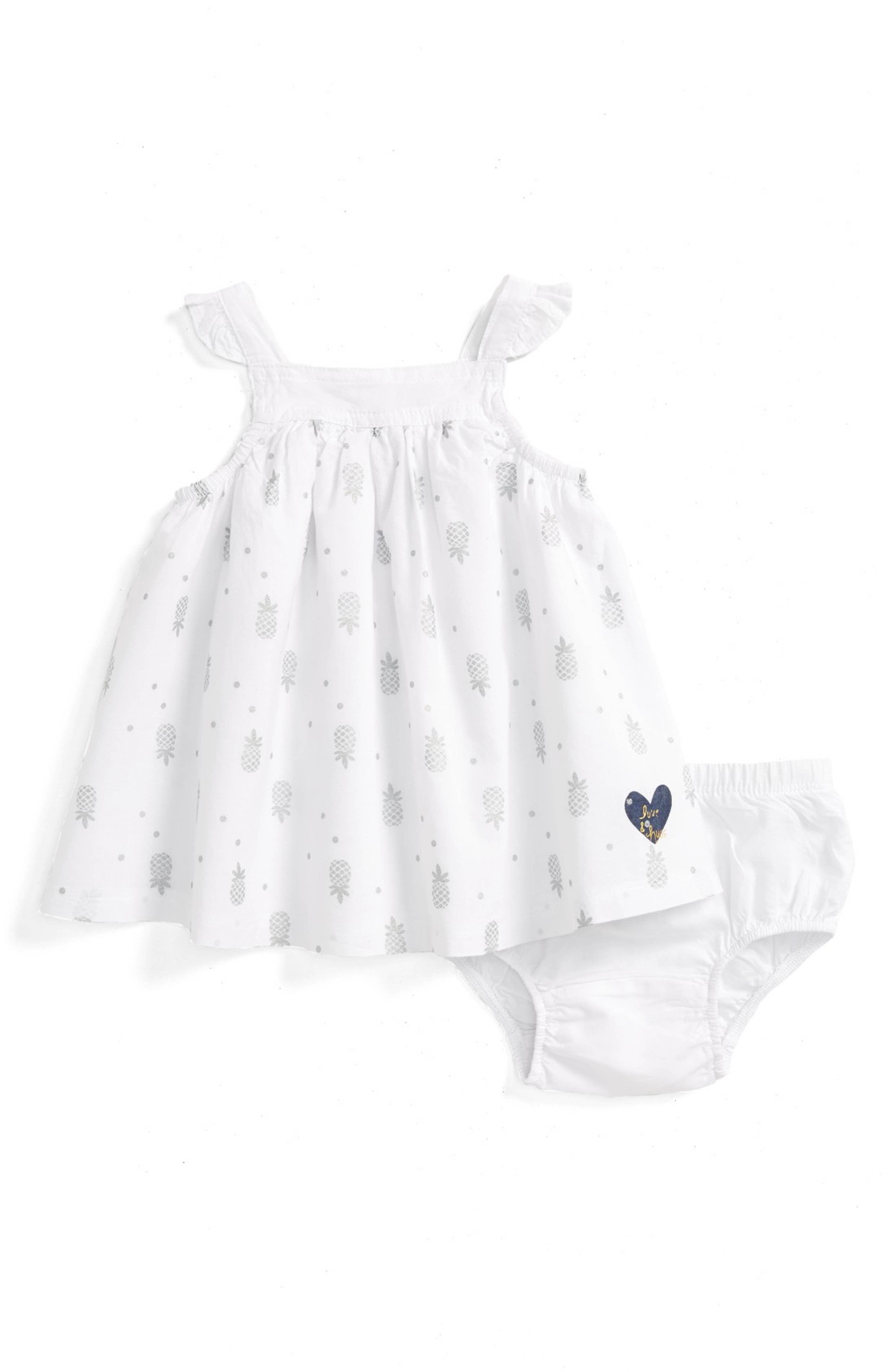 Main Image Robeez Pineapple Dress Baby Girls