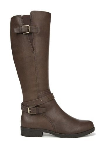 Naturalizer | Vikki Buckle Riding Boot - Wide Width & Wide Calf Available #nordstromrack