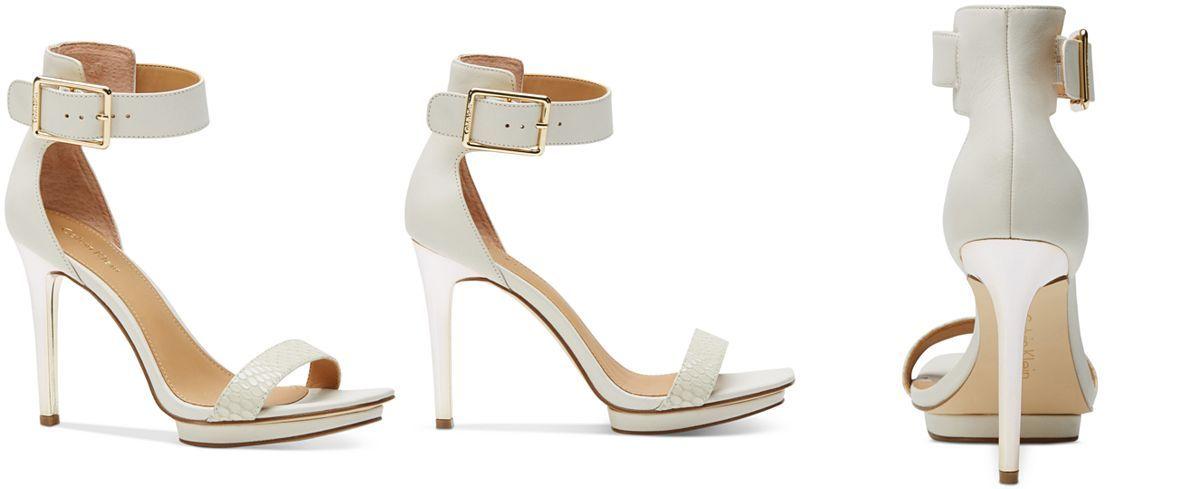 Calvin Klein Women's Vable Sandals - Sandals - Shoes - Macy's