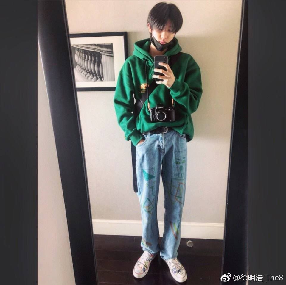 Minghao Pics On Twitter Men Fashion Casual Outfits Mens Outfits Streetwear Outfit