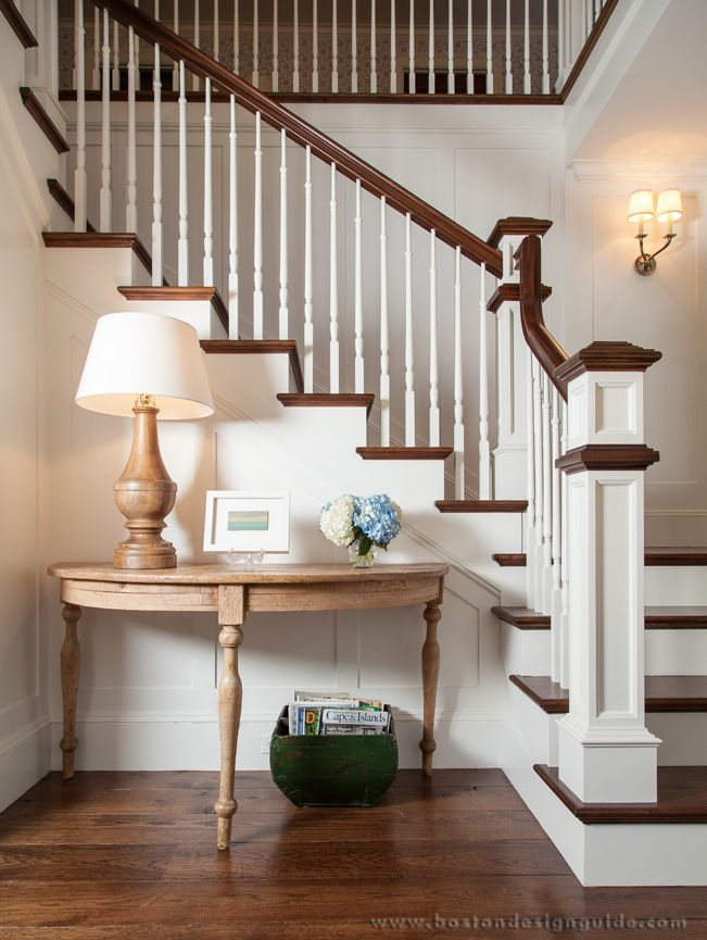 Love The Hardwood Floor Color And Staircase Featured Project: Cape Cod  Compound | Boston Design