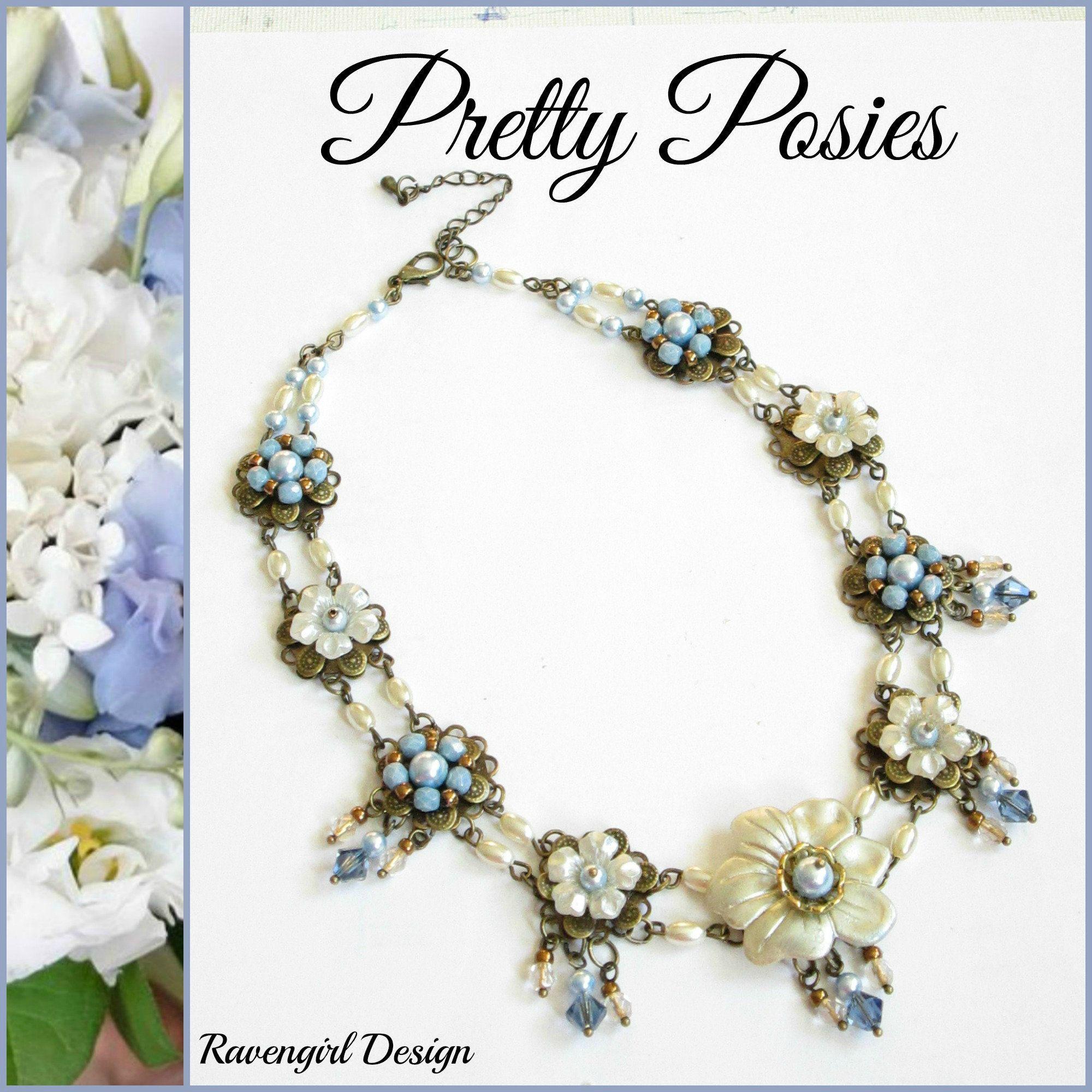 AUTUMN HUES Vintage Style Flower Earrings Ravengirl Copper Coral Green Earrings Hand Painted Earrings Long Dangle Victorian Earrings