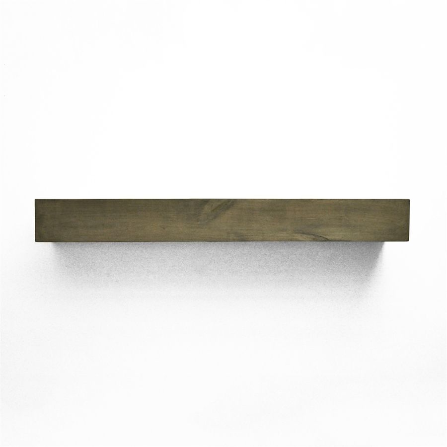 Dogberry 48 In W 5 5 In H X 10 In D Ash Gray Alder Modern Fireplace Mantel Lowes Com Modern Fireplace Mantels Farmhouse Fireplace Mantels Fireplace Mantels
