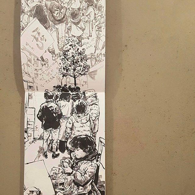 Family trip to Japan   #kimjunggi #sketchbook #dailydrawing #drawing #sketching #artwork #illustration #doodle