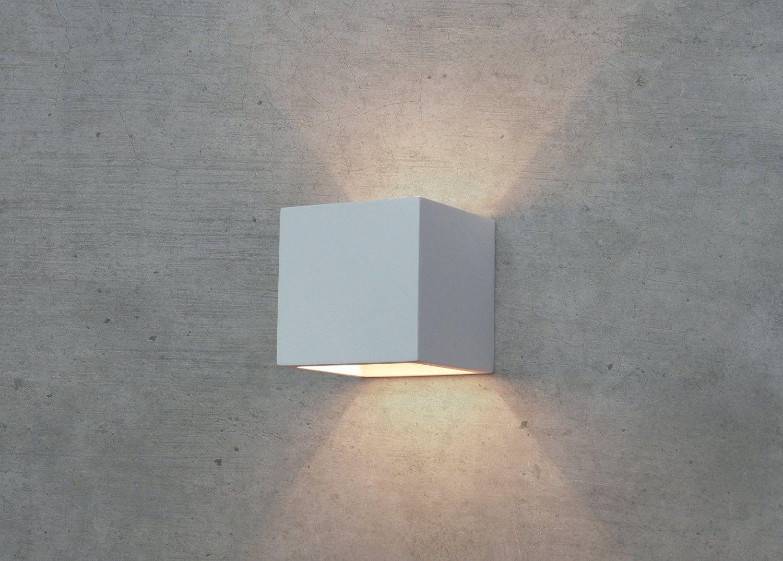 wandleuchte rund indirektes licht plutone led wandleuchte mit indirektem licht kaufen lampenwelt. Black Bedroom Furniture Sets. Home Design Ideas