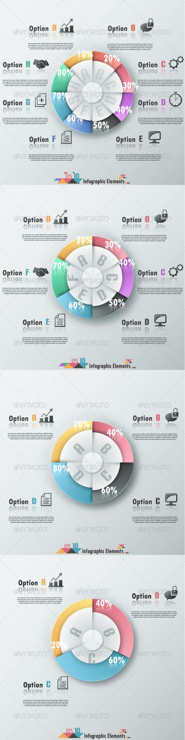 Pie Chart Templates Captivating Modern Infographic Banner With Pie Chart  Pie Charts Infographic .