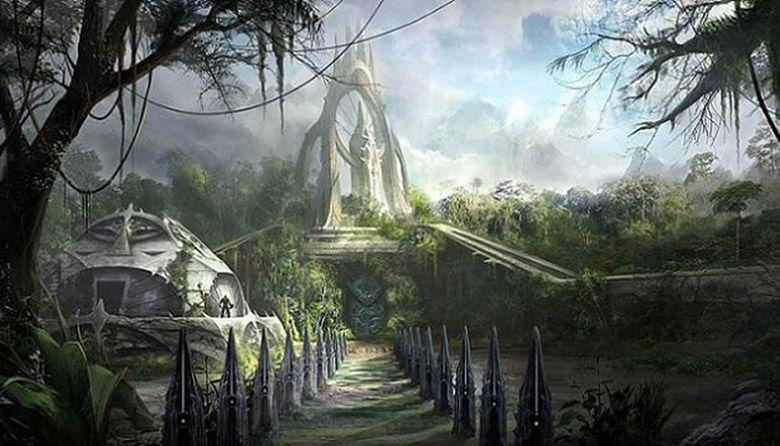 Vanaheim | Concept art world, Concept art, Fantasy landscape