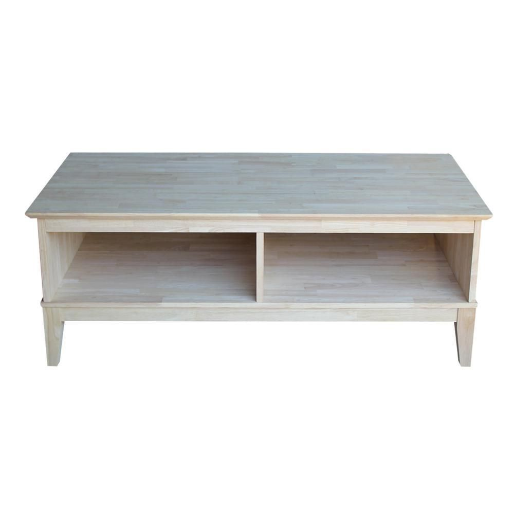 Shaker Coffee Table 46 Real Wood Furniture Coffee Table With