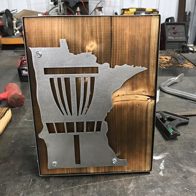 16120e6b790 I rounded up a couple past disc golf fabrication projects I ve created. Kind