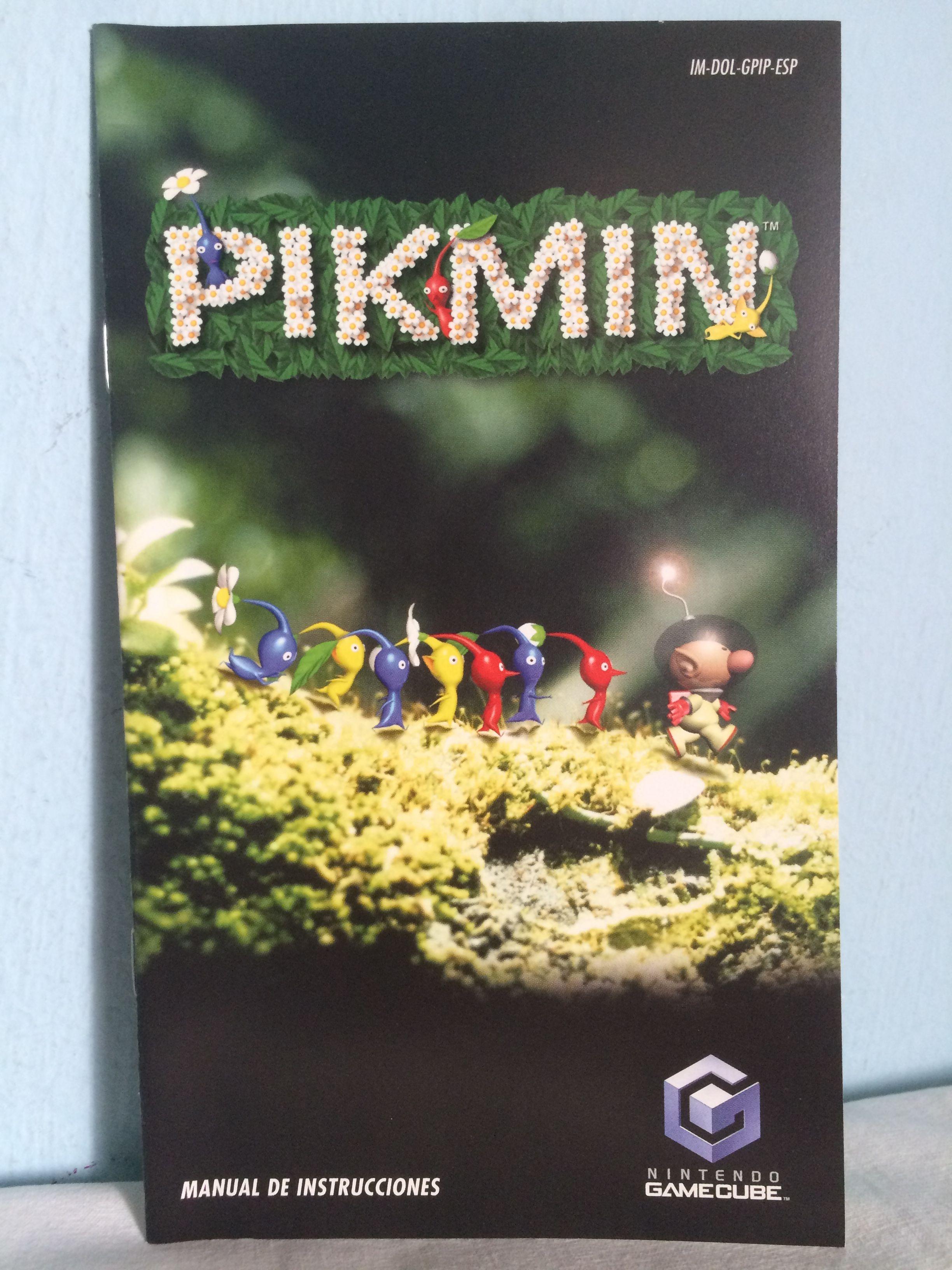 pikmin manual pikmin gamecube pinterest school videos and rh pinterest com Custom GameCube GameCube Carrying Case