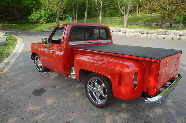 1987 C 10 Chevrolet Step Side Truck 1987 Chevrolet C10 W 70